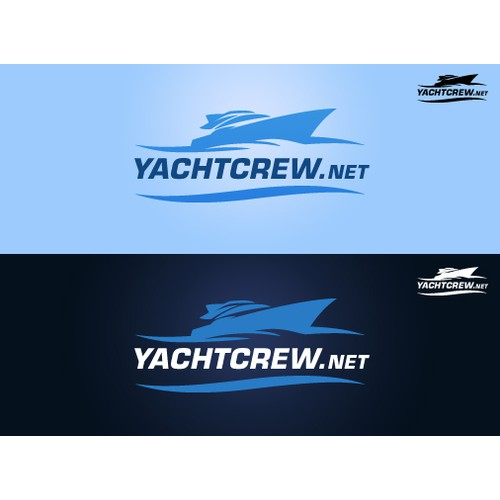YachtCrew.net  -  Logo and Brand Design