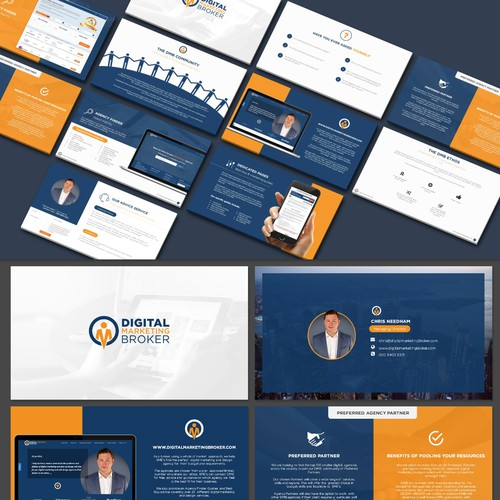 Powerpoint Redesign for Digital broker