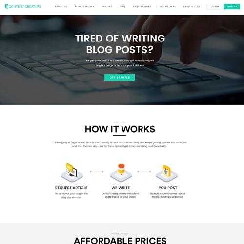 Content Creature Saas Platform