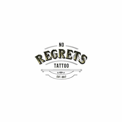 Logo for custom tattoo shop