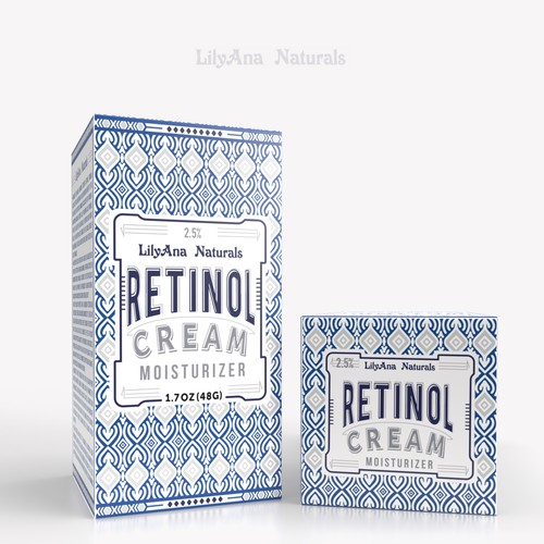 Box Design - Retinol Cream
