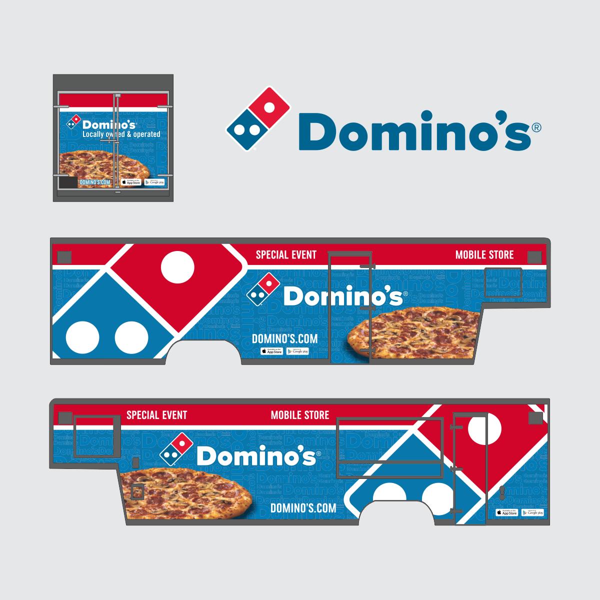 Domino's Food Trailer