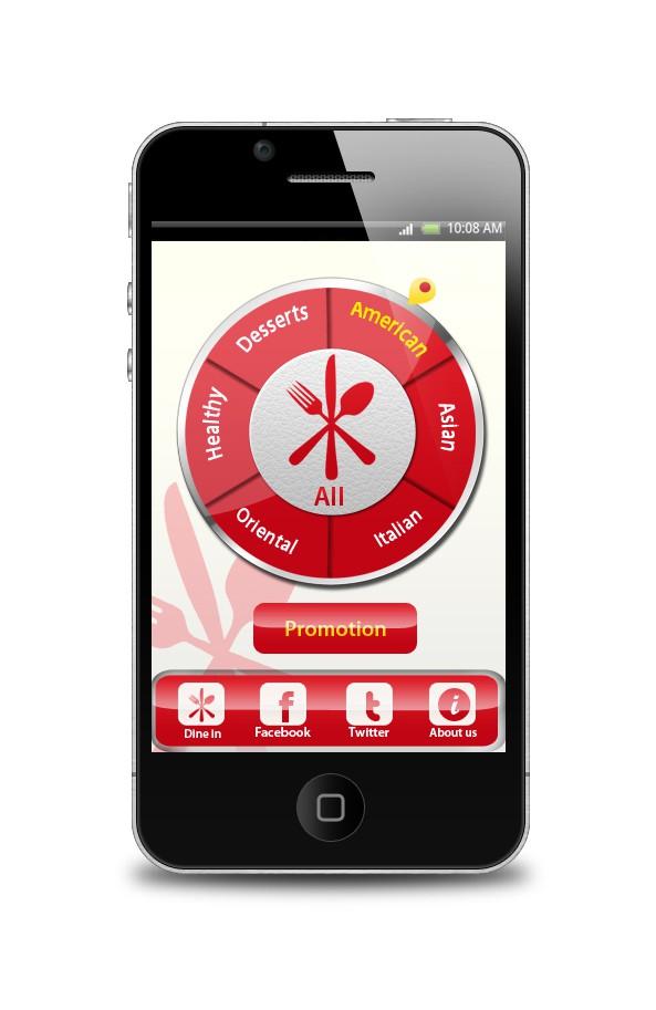 Food File  needs a new app design