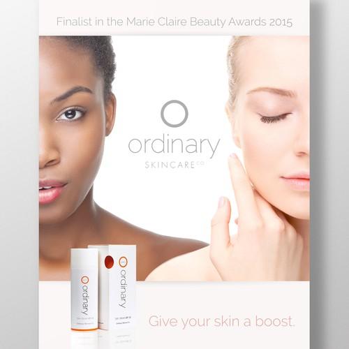 Ordinary Skincare Co Poster Comp
