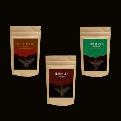 Product Label for Tea Packages (2 oz, 4 oz)