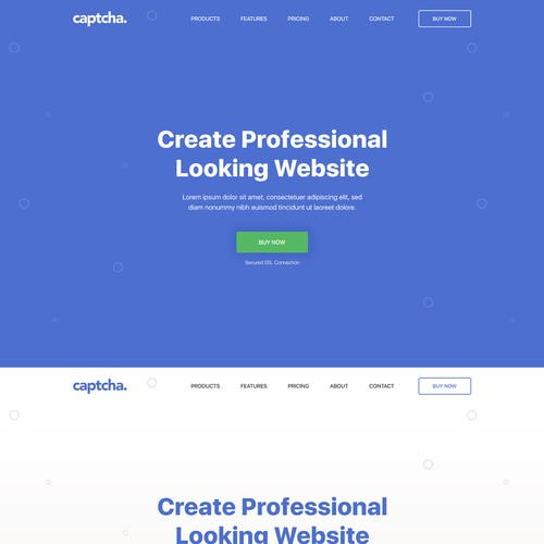 Create a Clean Landing Page