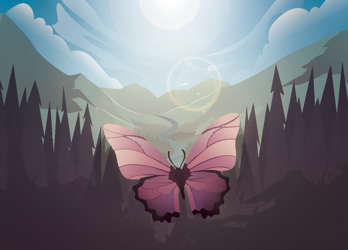 Sweet Little Butterfly Cover Art