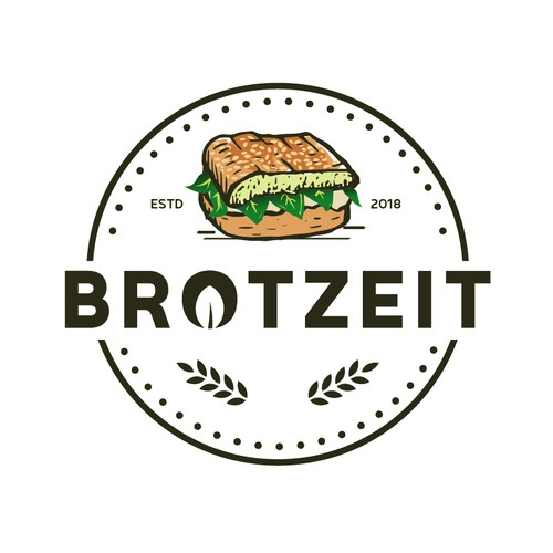 vinage logo for brotzeit