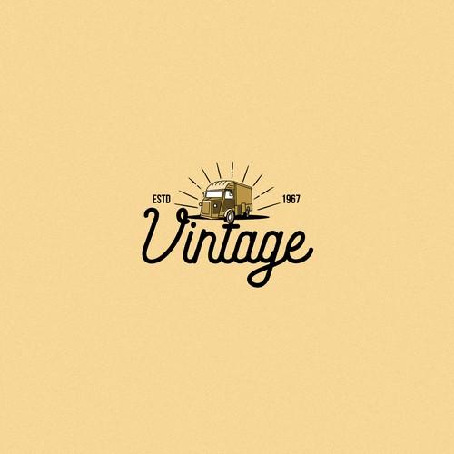 Vintage logo for vintage