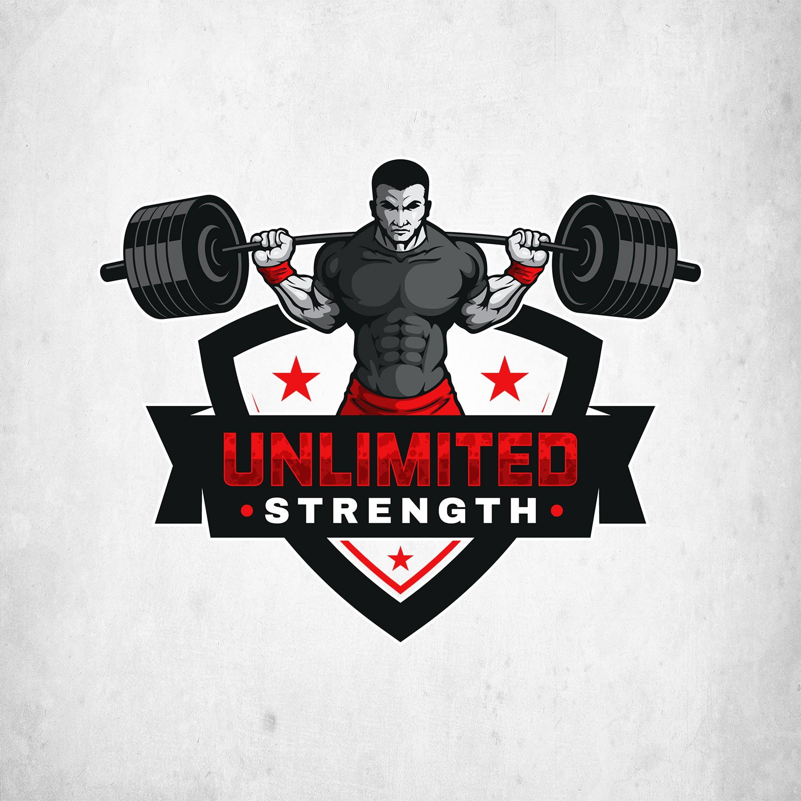 Unlimited Strength- Strength Coach Logo