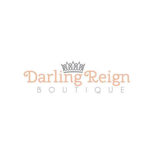 Feminine logo concept for a boutique