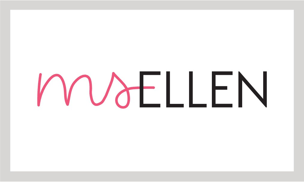 """We need a logo for our new personal care brand named """"Ms Ellen"""""""
