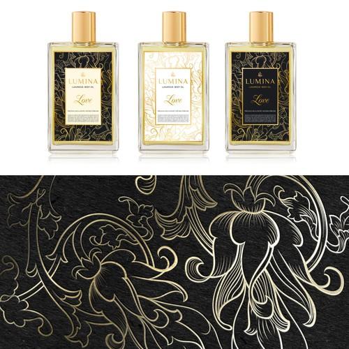 URGENT - Create beauty label for Lumina- body oils & fragrances