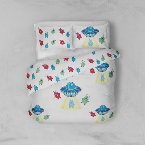 cute pattern for children's bed linen