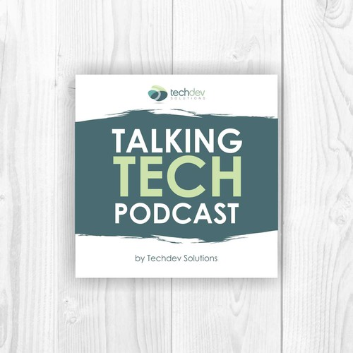 Talking tech podcast book cover