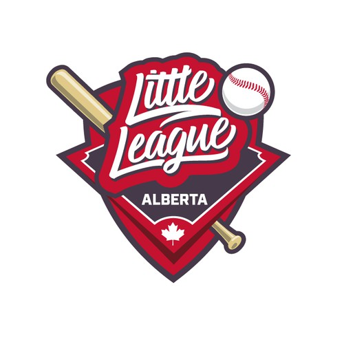 Alberta's Little League Baseball Logo