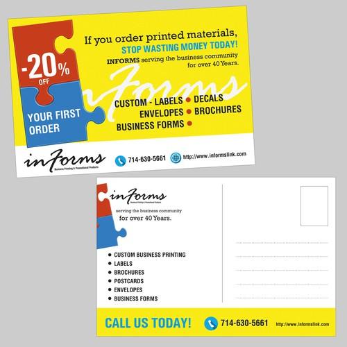 "Postcard for ""Informs"""
