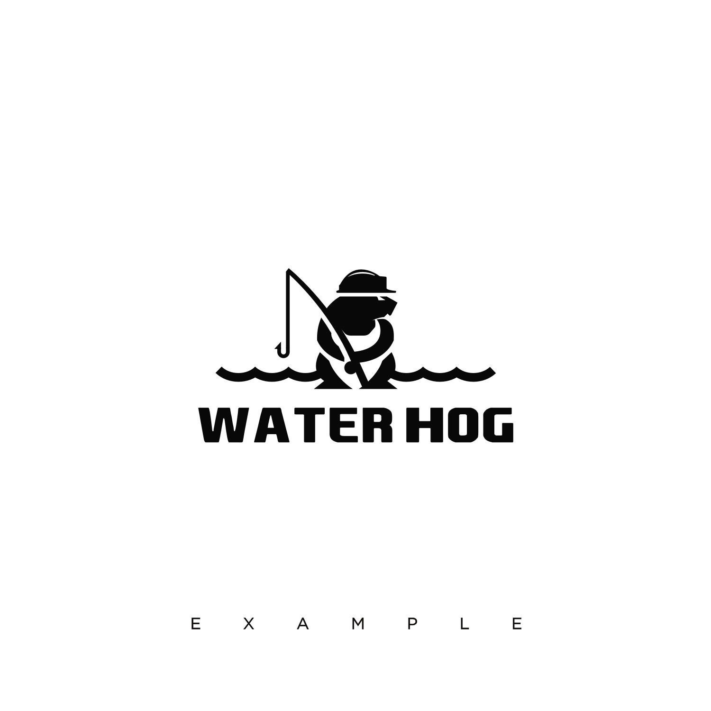 Water Hog boat logo