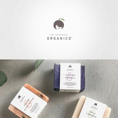 Logo for homemade and organic cosmetics