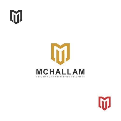 McHallam logo design