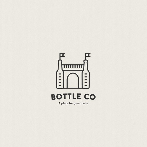 Logo for beer store