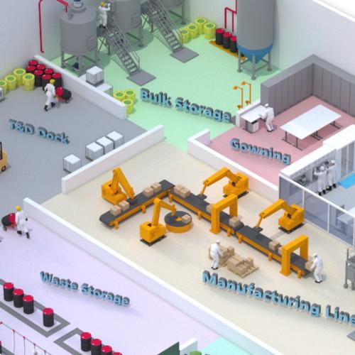 Transform a boring industrial building
