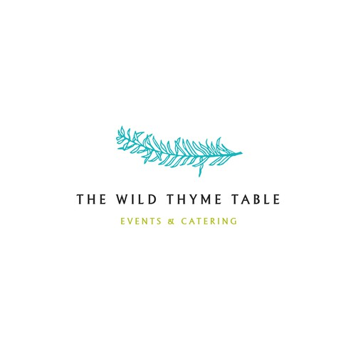 Logo Design Concept for The Wild Thyme Table