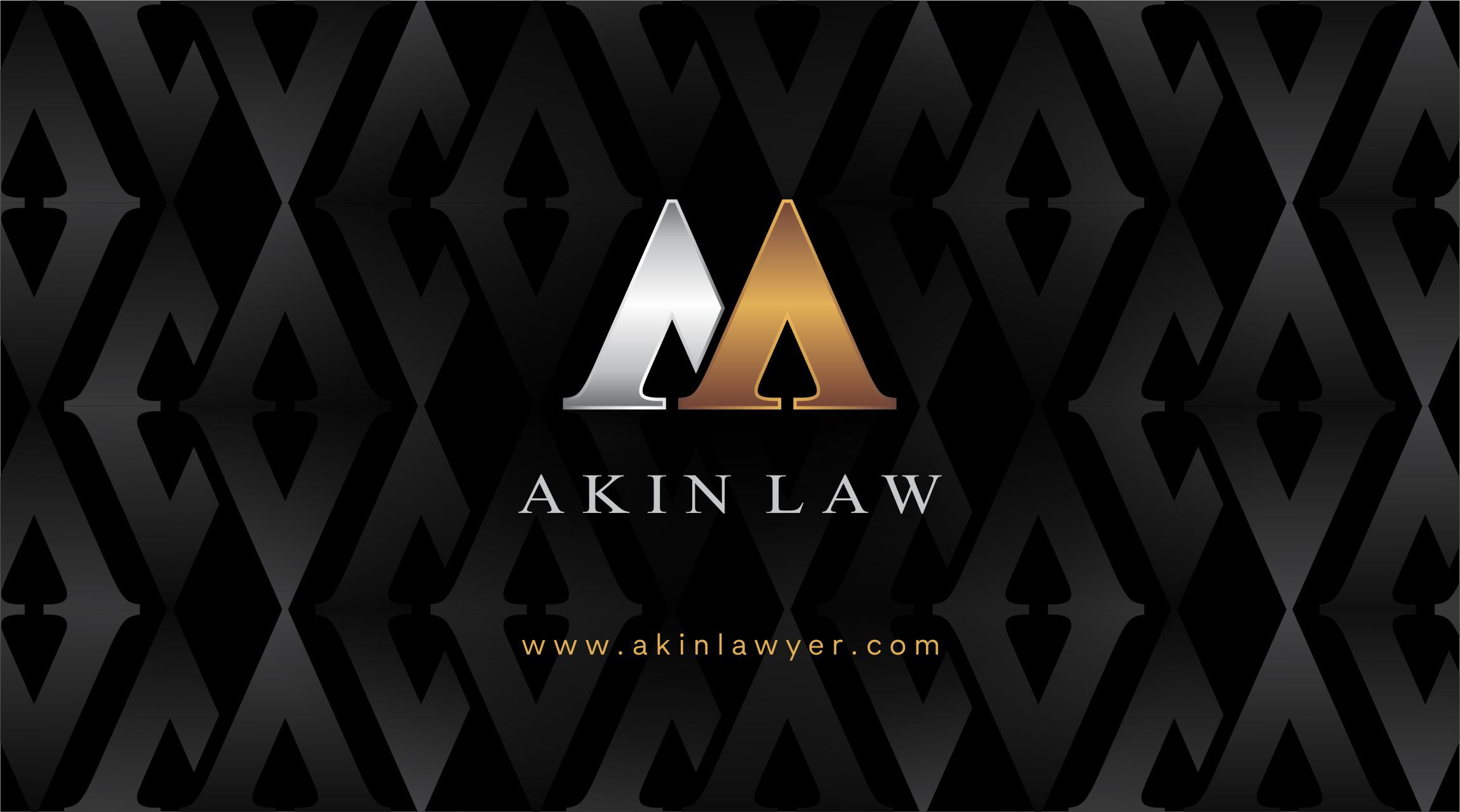Business Cards - M. Akin Law