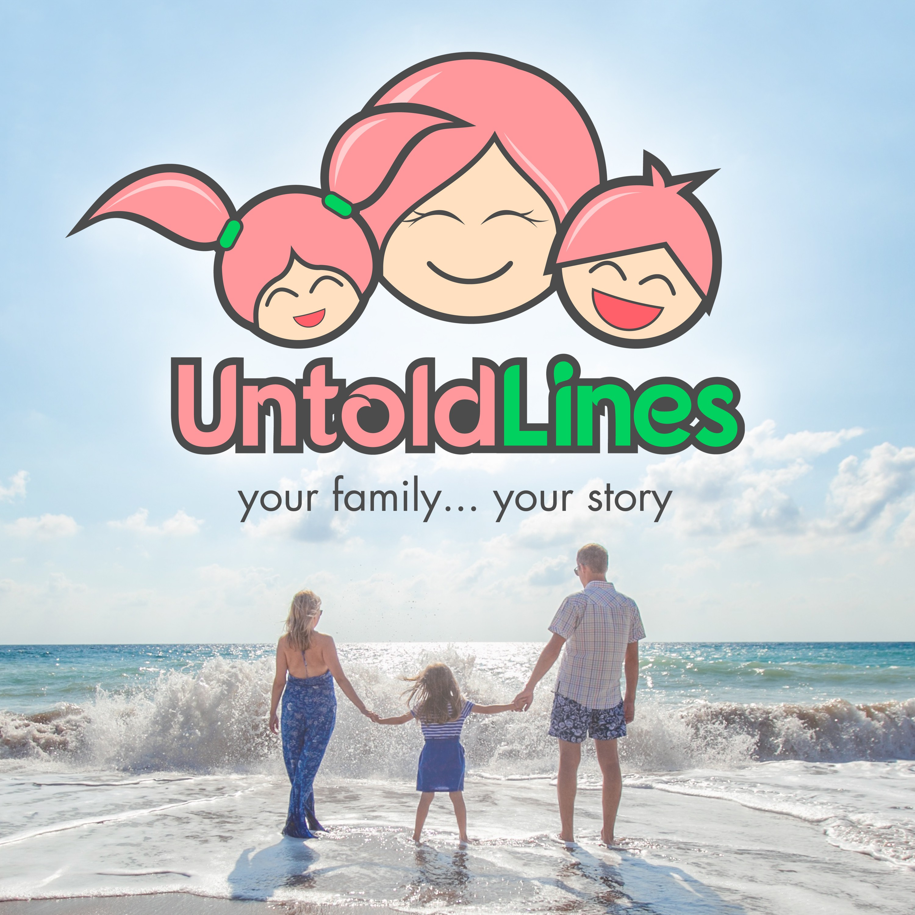 Untold Lines Podcast Cover