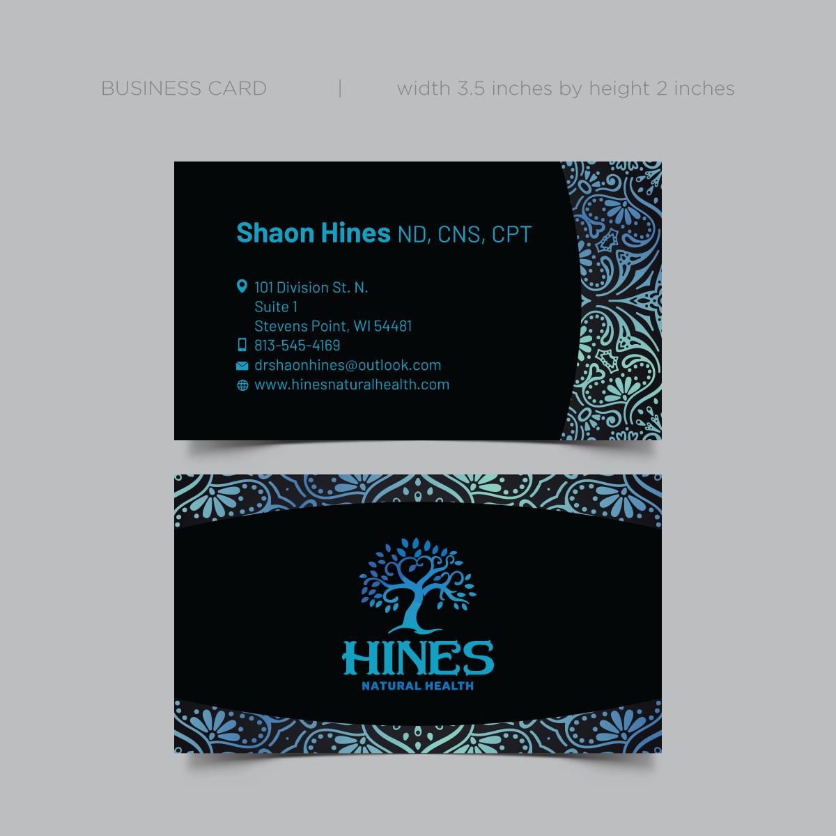 HNH Business Card Design