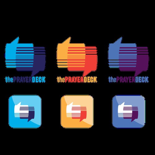 the PrayerDeck - colors with icons