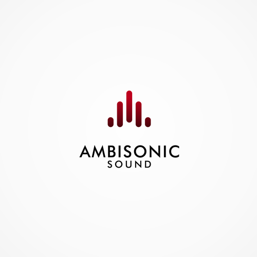 Clean modern logo for a sound production company