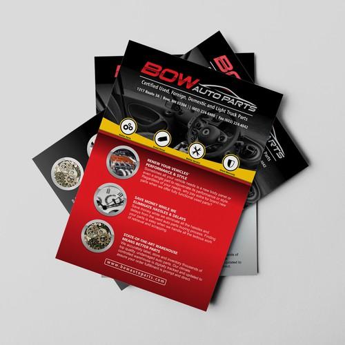 bow auto parts brochure