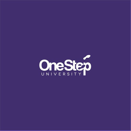 EFFICIENT LOGO FOR ONESTEP UNIVERSITY