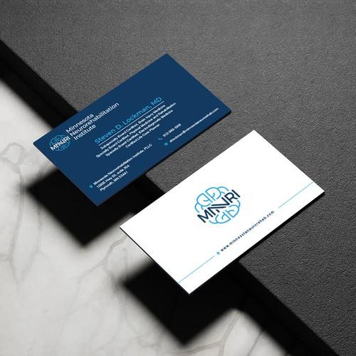 MNNRI Business Card Design
