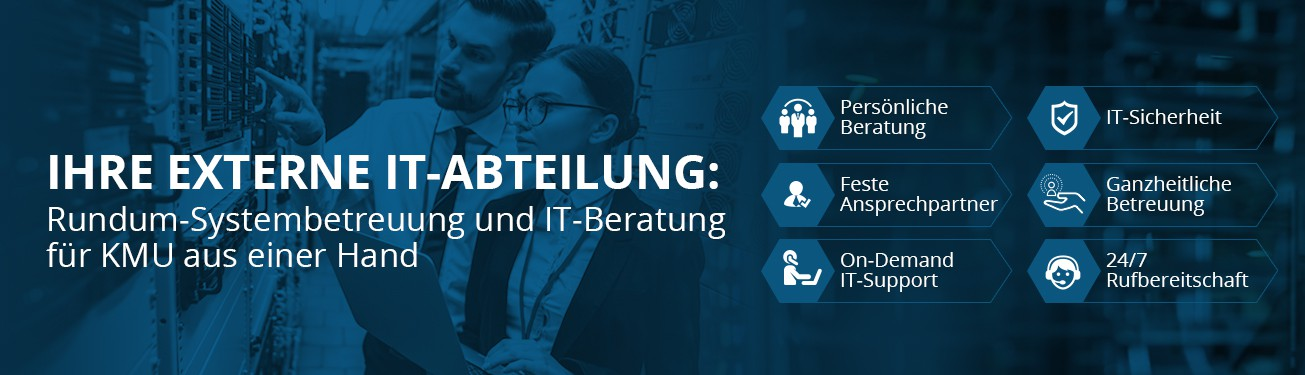 website banner for IT-company website
