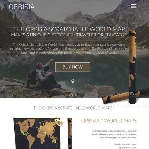 Orbisia world maps