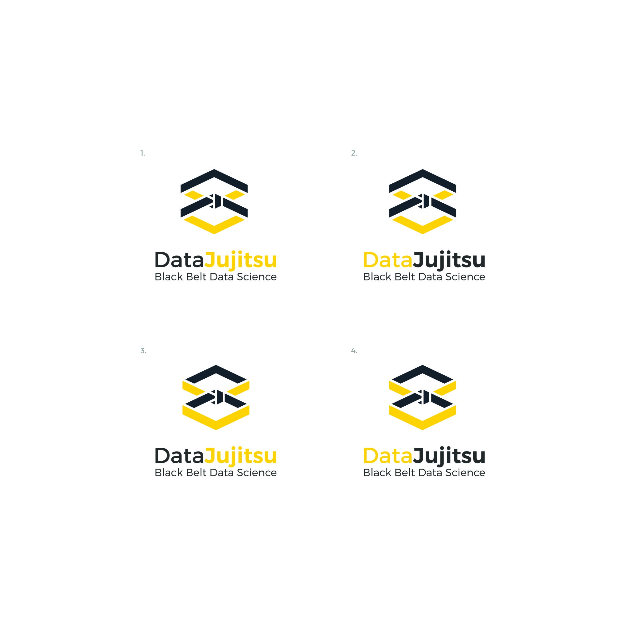 Design a logo for cool data science startup Data Jujitsu