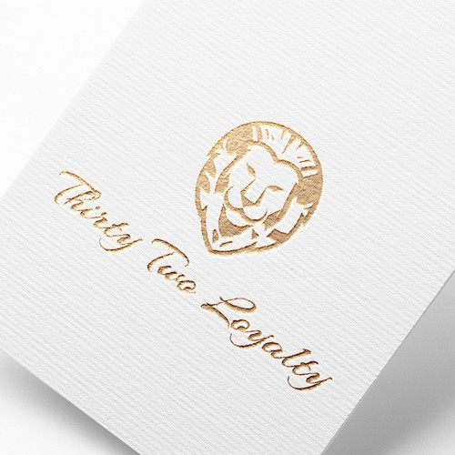 Bold lion 🦁 logo