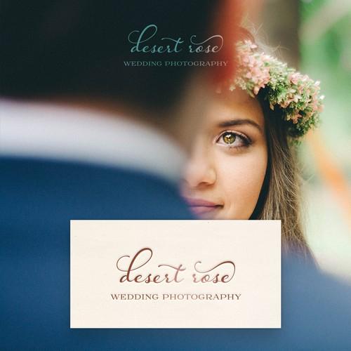 Logo Package for Desert Rose Wedding Photography
