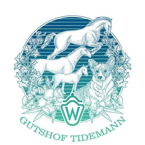 Gutsof Tidemann Logo/ illustration
