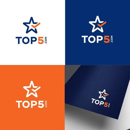 Star logo for Top5.com