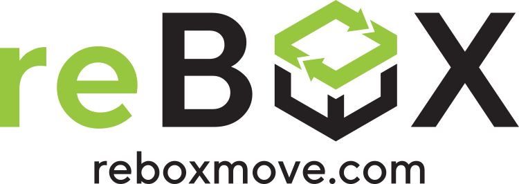 Create a modern logo and social media presence for a sustainable moving company