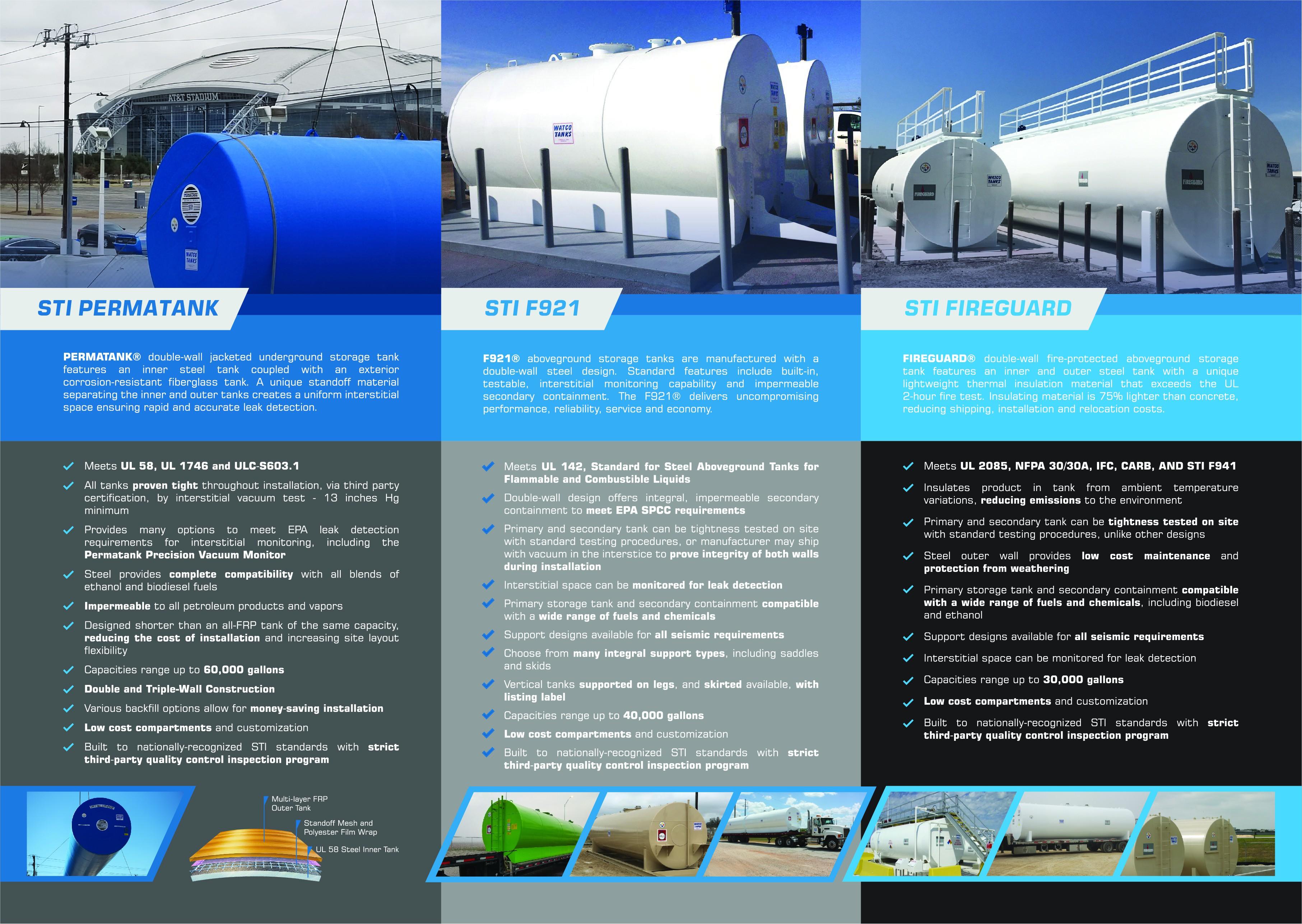 Watco Tanks Product Brochure