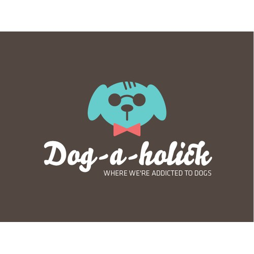Logo concept for a pet grooming shop