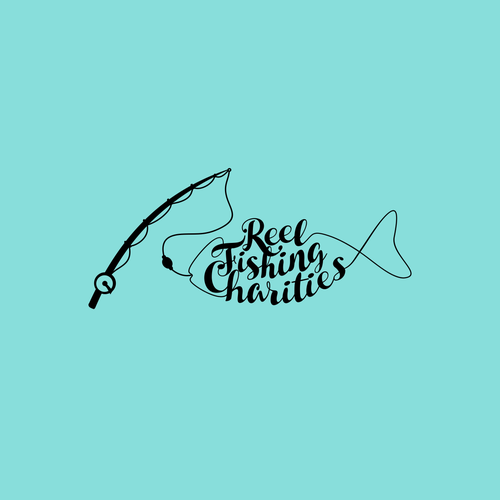 Logo design for reel fishing charities