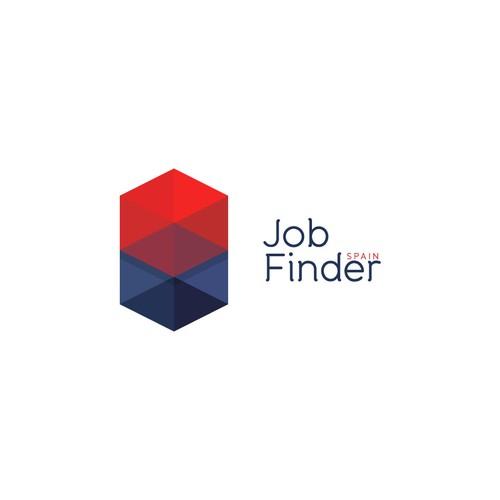 Logo concept for Job Finder Spain