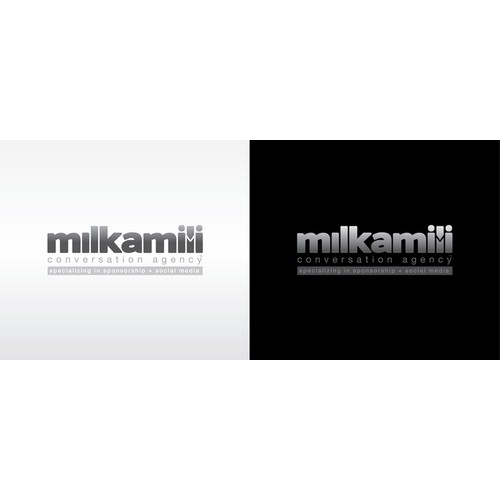 Logo Design for - Milkamili Conversation Agency