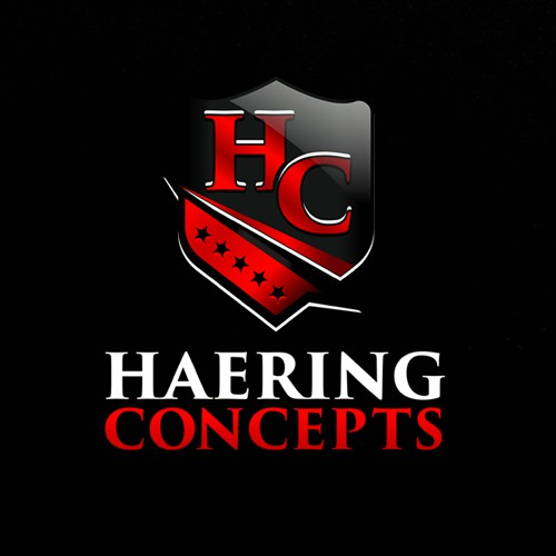 a logo design for Hearing concept.