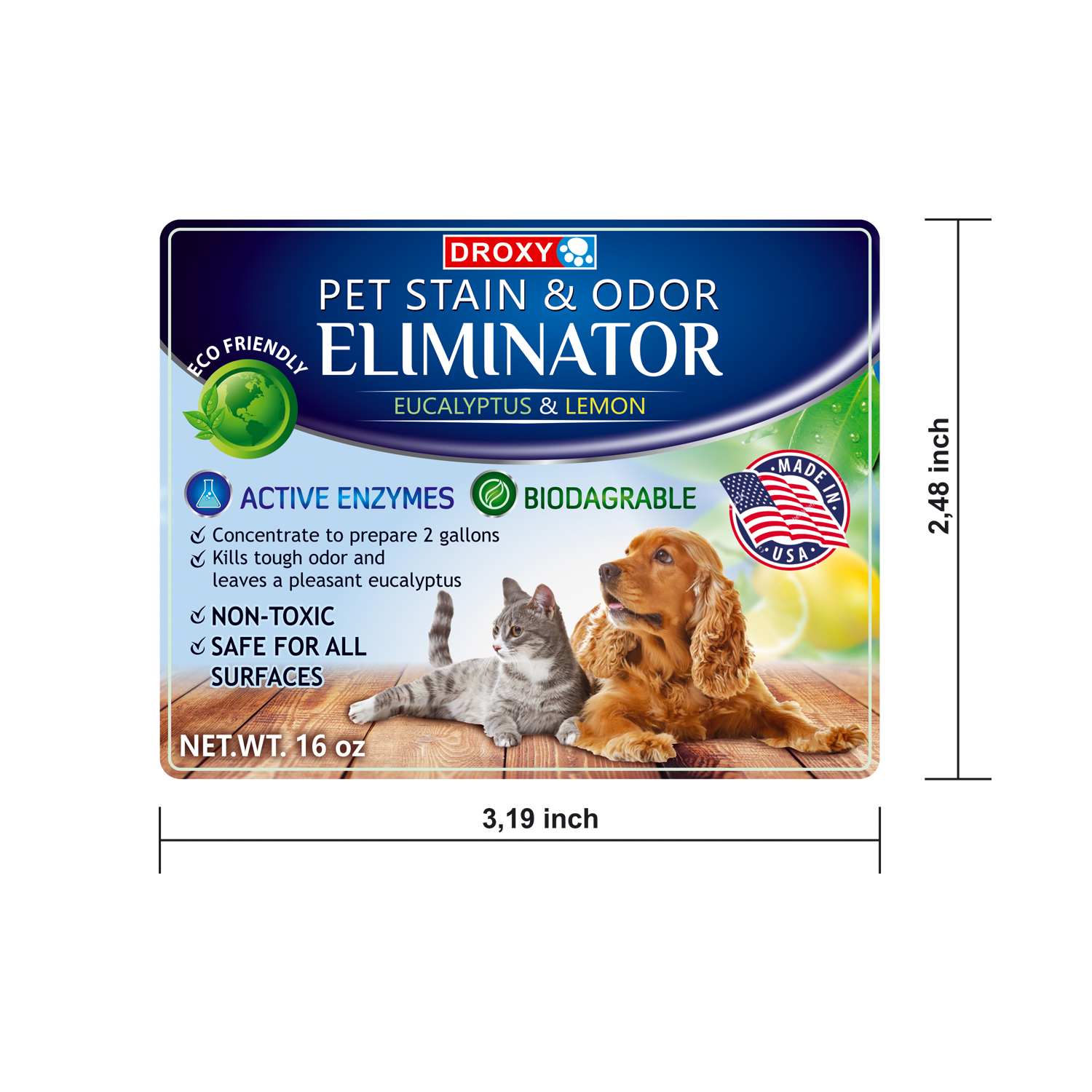 Pet Odor & Stain Remover